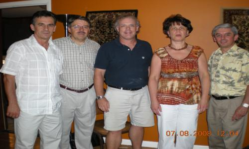 The Sunset Quartet from Portland, Oregon visited AFAB while in town this summer.  The quartet is made up of four Romanian immigrants who sing classic Gospel songs in Romanian.